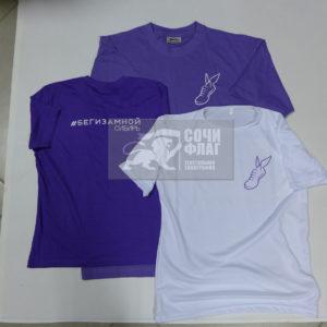 Печать логотипа на футболках в Сочи