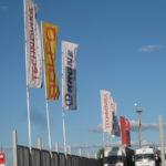 Изготовление фирменных флагов на заказ