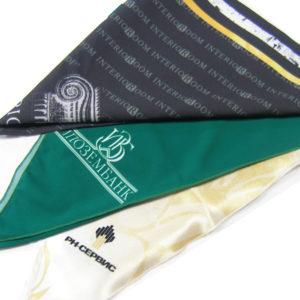 Печать фирменной символики на платках в Сочи