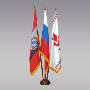 Изготовление кабинетных флагштоков в Сочи
